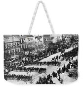 Lincolns Funeral Procession, 1865 Weekender Tote Bag by Photo Researchers, Inc.