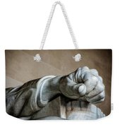 Lincoln's Left Hand Weekender Tote Bag