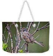 Lincoln's Sparrow Weekender Tote Bag