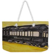 Lincons Funeral Car Weekender Tote Bag