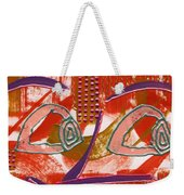 Linda I'm Watching You Weekender Tote Bag