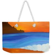 Linda Mar Beach Weekender Tote Bag