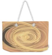 Line Art In Gold And Yellow Weekender Tote Bag