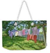 Line Dry - Laundry Weekender Tote Bag