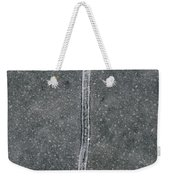 Line In The Bubbles  Weekender Tote Bag