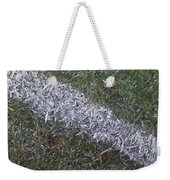 Line In The Grass Weekender Tote Bag