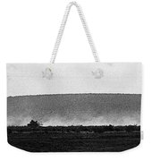 Line Of Tanks Army Reservists Summer Camp Exercise Death Valley  Ca 1968 Weekender Tote Bag