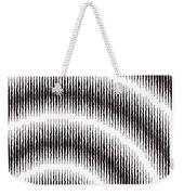 Linear Spiral Weekender Tote Bag