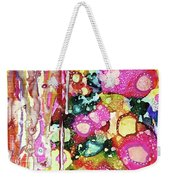 Lines And Bubbles Weekender Tote Bag