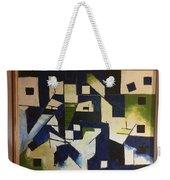 Lines And Squares Weekender Tote Bag