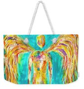 Lines Of Color In The Sky Weekender Tote Bag