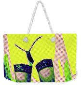 Lingerie Tease Pop Art Weekender Tote Bag