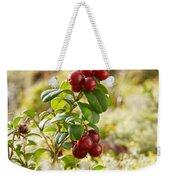 Lingonberries 1 Weekender Tote Bag
