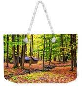 Linn Run Pennsylvania 2 - Paint Weekender Tote Bag