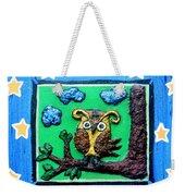 Lint Owl Weekender Tote Bag