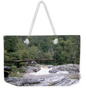 Linville Trail...dare To Walk A Limb Weekender Tote Bag