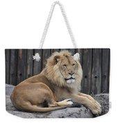 Lion 2 Weekender Tote Bag