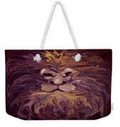 Lion Abstract Weekender Tote Bag