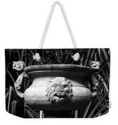 Lion And Serpents Weekender Tote Bag