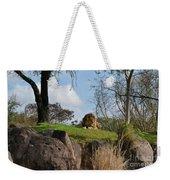 Lion Country Weekender Tote Bag