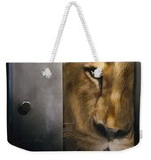 Lion Eye Weekender Tote Bag