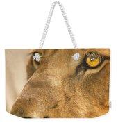 Lion Face Weekender Tote Bag