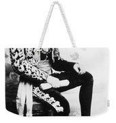 Lion-faced Man, 1907 Weekender Tote Bag