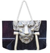 Lion Head Door Knocker Weekender Tote Bag