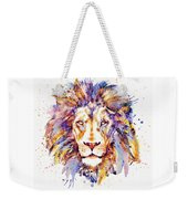 Lion Head Weekender Tote Bag