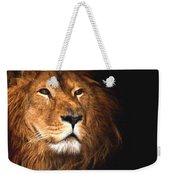 Lion Head Oil Painting Weekender Tote Bag