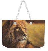 Lion Heart Weekender Tote Bag