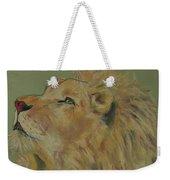 Lion Hearted Weekender Tote Bag
