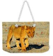 Lion - Id 16235-220310-4716 Weekender Tote Bag
