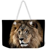 Lion King Of The Jungle 2 Weekender Tote Bag by James Sage