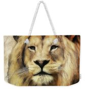 Lion Majesty Weekender Tote Bag