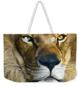 Lion Of Judah II Weekender Tote Bag