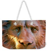 Lion Of Saint Augustine Weekender Tote Bag