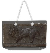 Lion Of The Colonne De Juillet Weekender Tote Bag