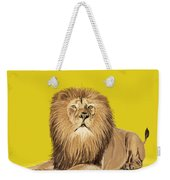 Lion Painting Weekender Tote Bag