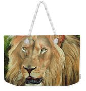 Lion Portrait Weekender Tote Bag
