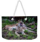 Lion Roar/2 Weekender Tote Bag