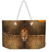 Lion Sun Weekender Tote Bag