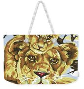 Lioness And Son Weekender Tote Bag