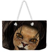 Lioness Weekender Tote Bag by Jutta Maria Pusl