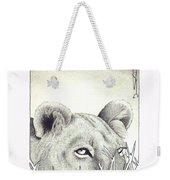 Lioness Rising Weekender Tote Bag