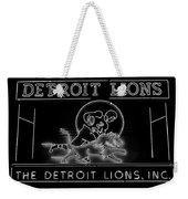 Lions Football Weekender Tote Bag