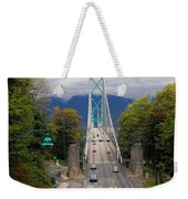 Lion's Gate Bridge Weekender Tote Bag