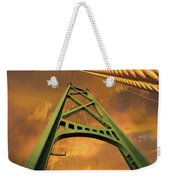 Lions Gate Bridge Tower Weekender Tote Bag