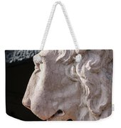 Lion's Gaze Weekender Tote Bag by Todd Blanchard