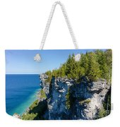 Lions Head Limestone Cliffs Weekender Tote Bag